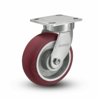 4 Inch Albion 110 Contender Kingpinless Swivel Caster - (110AX04228S)