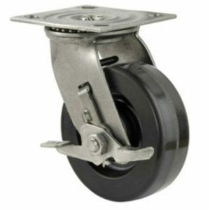 6 Inch Faultless 1400 Series Swivel Caster - (1431-6x2RB)