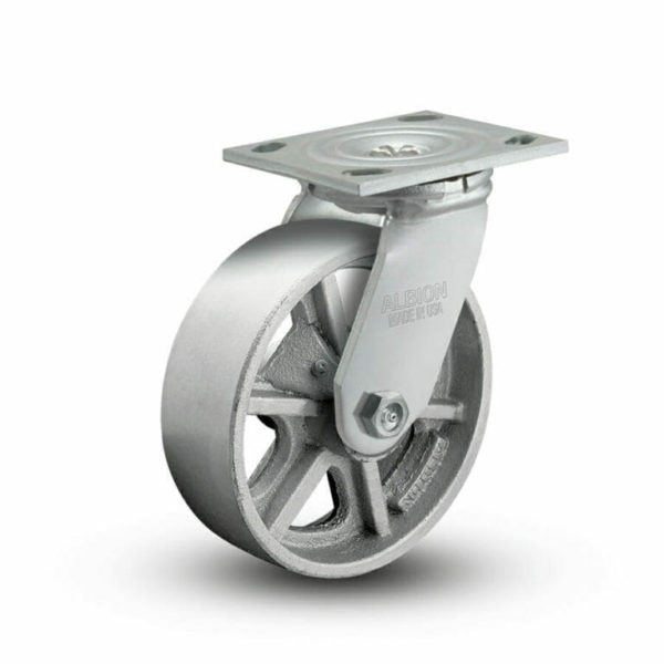 5 Inch Albion 16 Medium Heavy Duty Swivel Caster - (16CA05201S)