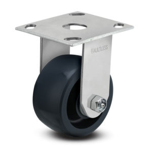 5 Inch Faultless 1400 Series Rigid Caster - (3441-5x2)