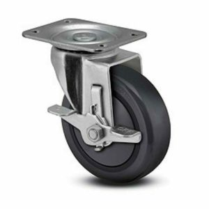 4 Inch Faultless 400 Series Swivel Caster - (493-4RBTG)