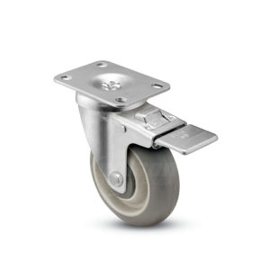 4 Inch Shepherd Institutional Swivel Caster - (PGT40120ZN-DMT32(GG))