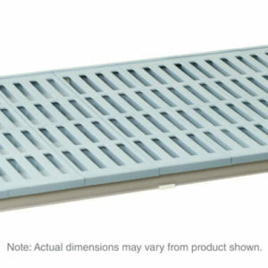 "MetroMax 4 Polymer Shelf with Grid Mat, 18"" x 36"" (0-41105-86372-5)"