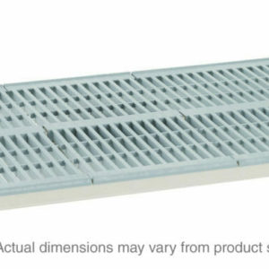 "MetroMax i Polymer Shelf with Grid Mat, 18"" x 48"" (0-41105-65561-0)"