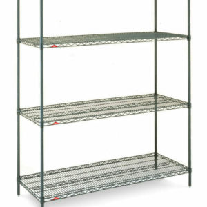 "Super Erecta 4-Tier Convenience Pak, Metroseal 3 Epoxy, 18"" x 60"" x 74.5"" (0-41105-58833-8)"