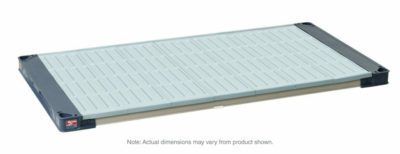 "MetroMax 4 Polymer Shelf with Solid Mat, 24"" x 60"" (0-41105-86407-4)"