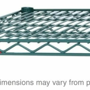 "Super Adjustable Super Erecta Wire Shelf, Metroseal 3 Epoxy, 18"" x 60"" (0-41105-41684-6)"