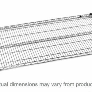 "Super Erecta Wire Shelf, Polished Stainless Steel, 14"" x 30"" (0-41105-30828-8)"
